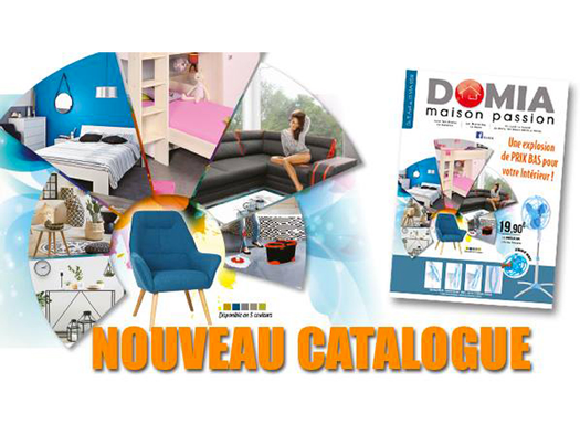 Bon plan, codes promo, réduction Guadeloupe, Martinique, Guyane, la Réunion : Nouveau Catalogue Domia | photo-nouveau-catalogue-domia-1