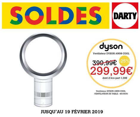 Bon plan, codes promo, réduction Guadeloupe, Martinique, Guyane, la Réunion : Ventilateur de table AM06 Dyson Cool | photo-ventilateur-de-table-am06-dyson-cool