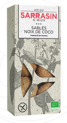 Bon plan, codes promo, réduction Guadeloupe, Martinique, Guyane, la Réunion : Atelier Sarrasin Sablés Noix de Coco Bio | photo-atelier-sarrasin-sables-noix-de-coco-bio