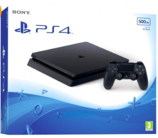 Bon plan, codes promo, réduction Guadeloupe, Martinique, Guyane, la Réunion : CONSOLE SONY PLAYSTATION 4 SLIM BLACK 500 GB | photo-console-sony-playstation-4-slim-black-500-gb