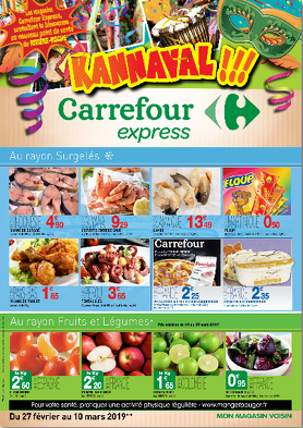 Bon plan, codes promo, réduction Guadeloupe, Martinique, Guyane, la Réunion : Catalogue Carrefour Express | photo-catalogue-carrefour-express