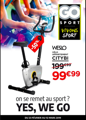 Bon plan, codes promo, réduction Guadeloupe, Martinique, Guyane, la Réunion : Dépliant Go Sport ! | photo-depliant-go-sport
