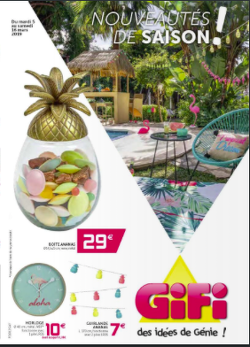 Bon plan, codes promo, réduction Guadeloupe, Martinique, Guyane, la Réunion : Le nouveau catalogue GIFI | photo-catalogue-gifi