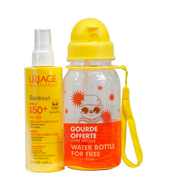 Bon plan, codes promo, réduction Guadeloupe, Martinique, Guyane, la Réunion : Uriage Bariésun Coffret Enfants Spray SPF 50 | photo-uriage-bariesun-coffret-enfants-spray-spf-50