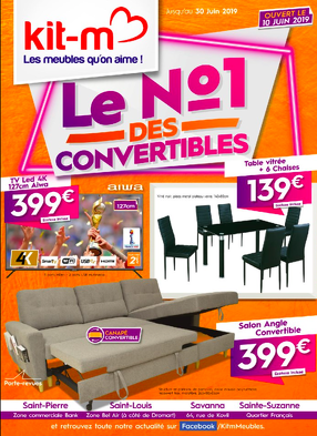 Bon plan, codes promo, réduction Guadeloupe, Martinique, Guyane, la Réunion : Catalogue Kit-M | photo-catalogue-kit-m