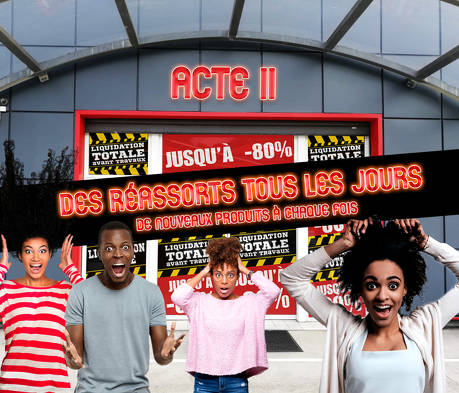 Bon plan, codes promo, réduction Guadeloupe, Martinique, Guyane, la Réunion : LIQUIDATION TOTALE - ACTE 2 | photo-liquidation-totale-acte-2