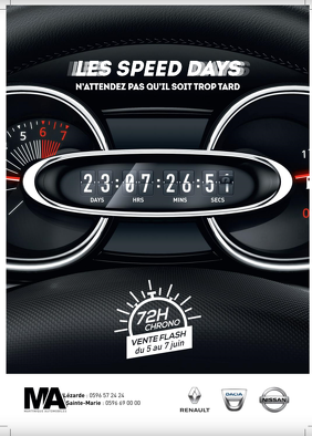 Bon plan, codes promo, réduction Guadeloupe, Martinique, Guyane, la Réunion : LES SPEED DAYS | photo-les-speed-days