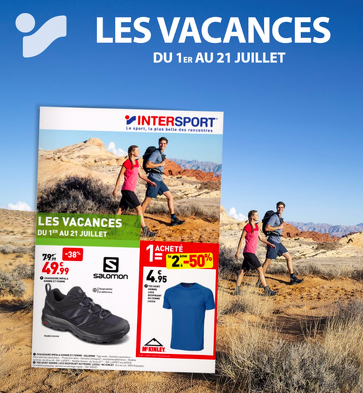 Bon plan, codes promo, réduction Guadeloupe, Martinique, Guyane, la Réunion : Le catalogue intersport ! | photo-le-catalogue-intersport