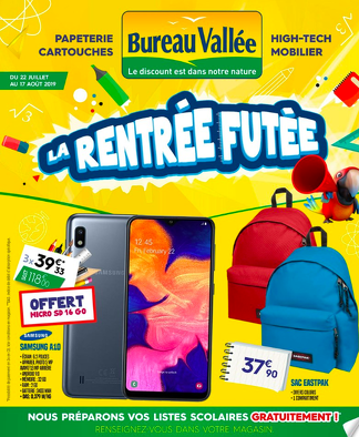 Bon plan, codes promo, réduction Guadeloupe, Martinique, Guyane, la Réunion : Catalogue de la rentrée futée ! | photo-catalogue-de-la-rentree