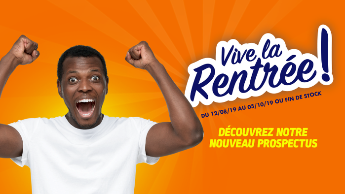 Bon plan, codes promo, réduction Guadeloupe, Martinique, Guyane, la Réunion : Vive la rentrée ! | photo-vive-la-rentree