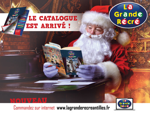 Bon plan, codes promo, réduction Guadeloupe, Martinique, Guyane, la Réunion : CATALOGUE DE NOËL 2019 | photo-catalogue-de-noel-2019
