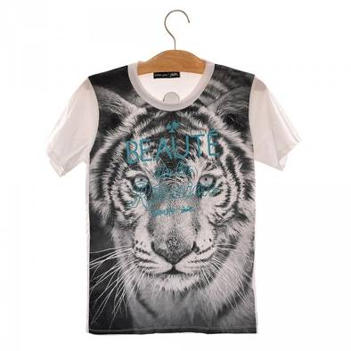 Bon plan, codes promo, réduction Guadeloupe, Martinique, Guyane, la Réunion : T-shirt Tigre | photo-t-shirt-tigre-1