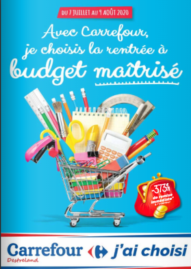 Bon plan, codes promo, réduction Guadeloupe, Martinique, Guyane, la Réunion : Découvrez le catalogue Carrefour Destreland ! | photo-catalogue-carrefour