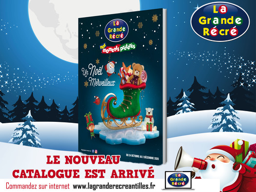 Bon plan, codes promo, réduction Guadeloupe, Martinique, Guyane, la Réunion : CATALOGUE DE NOËL 2020 | photo-catalogue-de-noel-2020