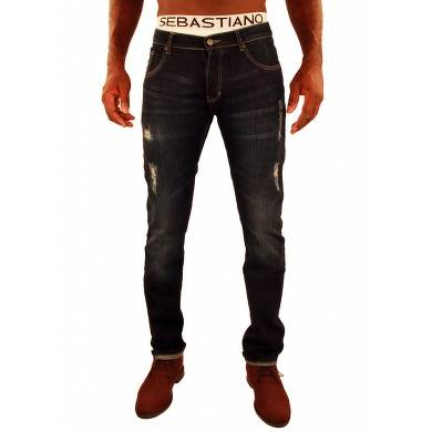 Bon plan, codes promo, réduction Guadeloupe, Martinique, Guyane, la Réunion : Jeans Dark style Usé Falk Sebastiano | photo-jeans-dark-style-use-falk-sebastiano-1