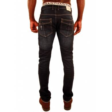 Bon plan, codes promo, réduction Guadeloupe, Martinique, Guyane, la Réunion : Jeans Dark style Usé Falk Sebastiano | photo-jeans-dark-style-use-falk-sebastiano-2