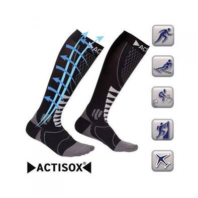 Bon plan, codes promo, réduction Guadeloupe, Martinique, Guyane, la Réunion : ACTISOX CHAUSSETTE DE COMPRESSION | photo-actisox-chaussette-de-compression-2