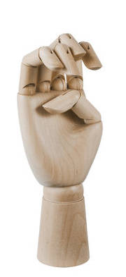 Bon plan, codes promo, réduction Guadeloupe, Martinique, Guyane, la Réunion : Décoration Wooden Hand Medium / H 18 cm - Bois - H | photo-decoration-wooden-hand-medium-h-18-cm-bois-h-1