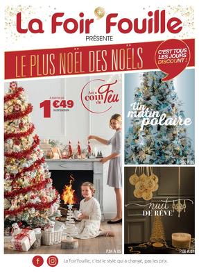 Catalogue De Noël La Foir Fouille Vie Chère